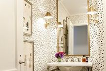 Bathroom Bliss / Inspiration for a stylish bathroom.