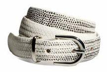Belts / stylish belts.