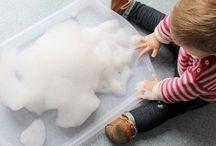 Activités avec bébé / Enfant, enfants activités, enfant bricolage, enfants activités manuelles, diy enfants, bouteille sensorielle, éveil bebe