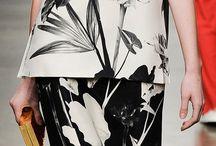 Florals / Black&White