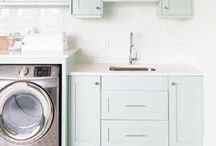 Laundry / Well designed and beautiful laundry rooms!