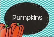 Pumpkins / by Ana Capurro