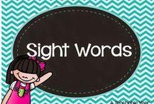 Sight Words / by Ana Capurro