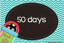 50 days of school / by Ana Capurro