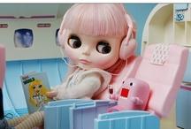 Blythe Bliss / My love for Blythe Dolls / by Suzanne Kamal