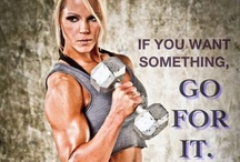 Weights are for girls, too! / Strength and weight training are essential to a well-rounded and effective workout program. It's not just for boys!