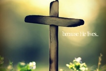 Cross of Love / A collection of images of the Cross. Oh, how I love this symbol of my faith!  / by Tricia Russell