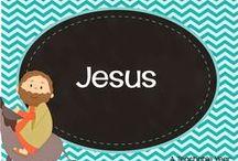 Bible: Jesus / by Ana Capurro