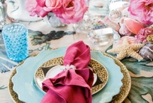 Creative Tablescapes  / Ideas for creating centerpiece designs and place settings / by Marsha Olson