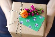 Wrap it Up / Gift wrapping ideas for all occasions ~ Christmas, Birthdays, Hostesses, Mother's Day and more ~ Handmade Gift Wrap, Wrapping for Kids, Gift Basket Ideas, DIY Gift Tags, etc.