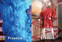 Spring 2013 Ad Campaign / Proenza Schouler Spring 2013 Ad Campaign Featuring models Julia Nobis and Irina Nikolaeva by David Sims
