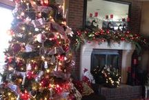 No place like HOME for the holidays (Love decorating) / My decorations
