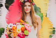 Party decor! / DIY ideas for party decor, party decoration, photo booth backdrops, photo booth ideas, party flowers, party themes, flowers, flower crowns.