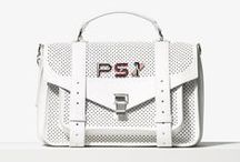PS Pins / Introducing PS Pins Customize your Proenza Schouler bag with enamel numbers and letters available in stores and online now