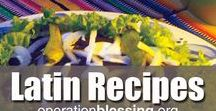 Latin American Recipes / Enjoy this collection of Latin American recipes from the humanitarian organization, Operation Blessing, inspired by our travels bringing humanitarian aid to those in need. Find delicious main courses, sides, desserts, starters, soups, breakfasts and more from locations like Brazil, Mexico, Haiti, Guatemala, Honduras and El Salvador. From easy recipes and quick dinners to comfort food and gourmet meals, you'll love these tasty treats from south of the border. Exotic food to please every palate!