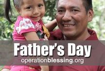 Father's Day / Fathers are so important to a child's development and well-being. At worldwide humanitarian organization Operation Blessing, we celebrate and support fathers. Whether a dad needs help starting a business through our microenterprise opportunities, short term hunger relief, medical assistance, or relief during a disaster, we're there to offer a helping hand as they work to raise their families. Enjoy these stories, videos, memes, and ideas to celebrate fathers on Father's Day and beyond.