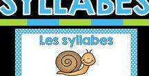Littératie au primaire / Inspiration, idées, activités et ressources pour travailler la littératie au primaire. La conscience phonologique, les sons, les lettres de l'alphabet, les syllabes, la lecture, l'écriture, etc.