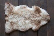 Classic Sheepskin Rug Decor