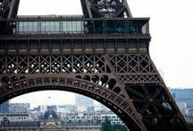 EIFFEL TOWER / I have an obsession with the wrought iron tower.