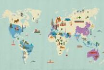 AROUND THE WORLD / Where to go and some stuff to know. / by Esa Chava