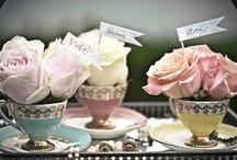 Tea Party / Decoration ideas and recipes for a tea party.