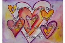 Hearts & Love Art, Crafts, Ideas / An appreciation for heart and love themed pictures and images including paintings, crafts, ideas for decorating or events, and inspirational photographs!