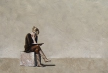 Art - Women reading  / by Lily Fisher