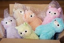 stuffies!!! :D / All things soft and wonderful. (pillows blankets and plushies)
