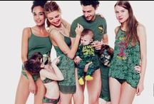 A/W13 - UNDERCOLORS COLLECTION / Enjoy the colour explosion of the new Autumn Winter collection 2013 of Undercolors of Benetton: from flowers, tartan and camouflage to colour block – have fun and completely relax! / by United Colors of Benetton