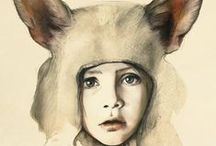 Art - Portraits - Kids  / by Lily Fisher