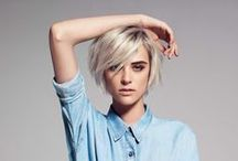 hair / professional yet funky hair ideas / by Jessica Hill