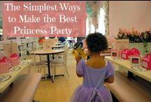 Once Upon a Birthday Princess / #disneyside princess party fun! disney princess party / by Mary Johnson