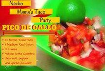 Nacho Mama's Taco Party / Planning a taco party, fiesta, or cinco de mayo party  / by Mary Johnson