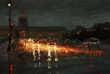 Art-Cityscapes / by Jill Marie Greenhill
