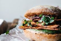{Photography} Sandwiches, salty toasts and burgers
