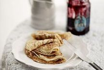 {Photography} Waffles, crepes, pancakes and scones