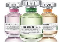 United Dreams / The new feminine fragrance collection by United Colors of Benetton. Stay positive, Love yourself and Live free, a trio of perfumes that share the desire to bring about change. / by United Colors of Benetton