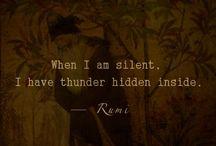 Rumi / by Jill Marie Greenhill