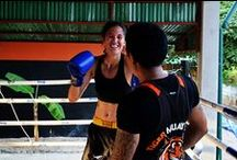 Thailand Travel Stories / Get close and personal with training Muay Thai in Thailand.