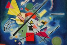 Art - Kandinsky / Wassily Kandinsky. One of my favourite abstract painters and a great inspiration.