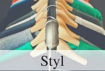 Style / Moodboard: photos of outfits and styles which I like and could wear, articles about fashion,