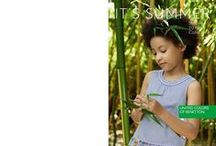 SUMMER 2016 - KIDS COLLECTION / Fill up on fun and style with full color looks! Your kids are pumped for summer with dresses, sweatshirts and striped, solid colored or patterned t-shirts. / by United Colors of Benetton