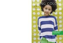 SPRING 2016 - KIDS COLLECTION / The ABCs of childhood fun? Color, style and lots of joy with sweaters, sweatshirts and dresse for exciting colorful adventures! / by United Colors of Benetton