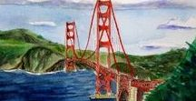 West Coast Life - California, Oregon, Washington, BC / Pictures, paintings, art and gifts featuring cities on the Pacific West Coast.