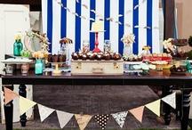 Mr. Mason (Mustache + Mason Jar) Party / Mr. Mason (Mustache + Mason Jar) Vintage Summer First Birthday Party Ideas / by Amber Pugmire