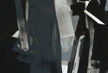 •  A R T  • / Abstract • minimal • classic • modern  / by N I C O L E T T E  • R E P C A