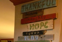 Crafts: Plaques & Signs / by Debra Lindsey