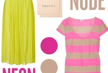 neons. neat! / trending color inspiration - get the look in Your life, now! / by Pretty Little Design Co.