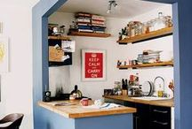 Small Spaces / by Kelli Dunn (The Corner Kitchen)
