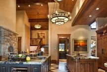 Statement Chandeliers /  Rustic, contemporary, romantic, or anything in between, a beautiful chandelier enhances any space.